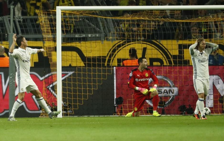 El portugués fue de más a menos en el partido: (Foto: AFP)