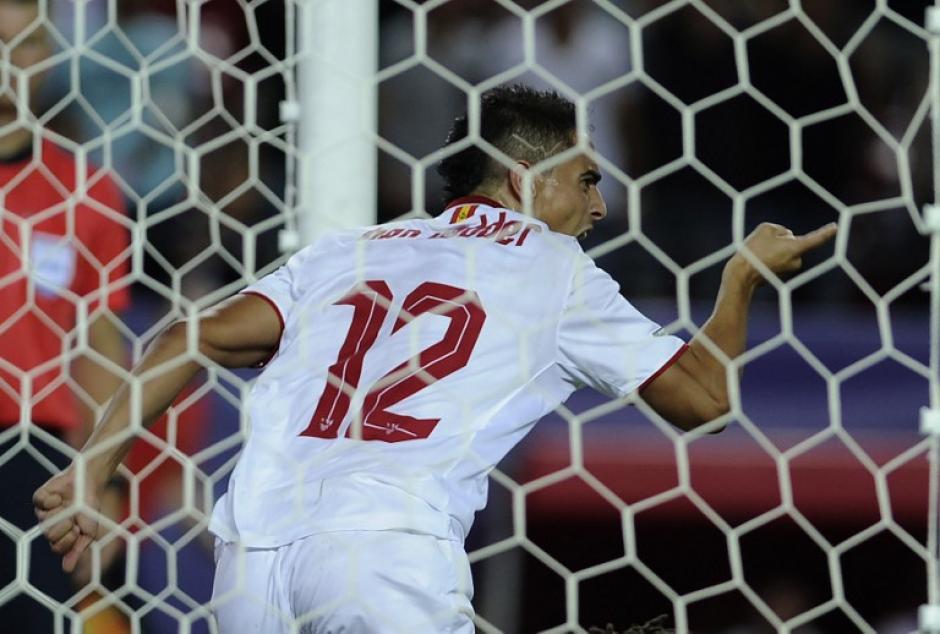 El Sevilla ganó gracias a un gol de Wissam Ben Yedder. (Foto: AFP)