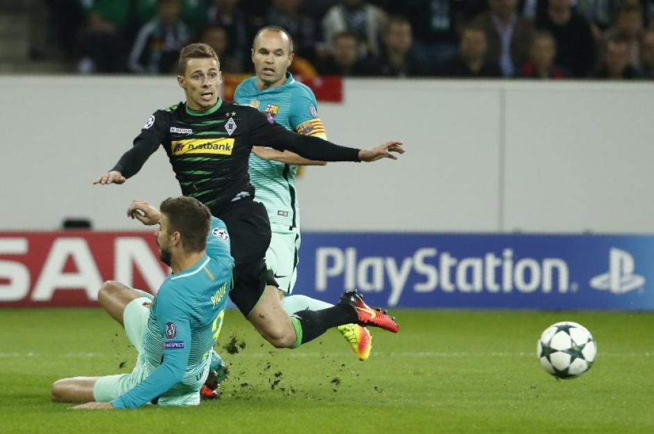 El Barcelona sufrió mucho en Alemania. (Foto: AFP)