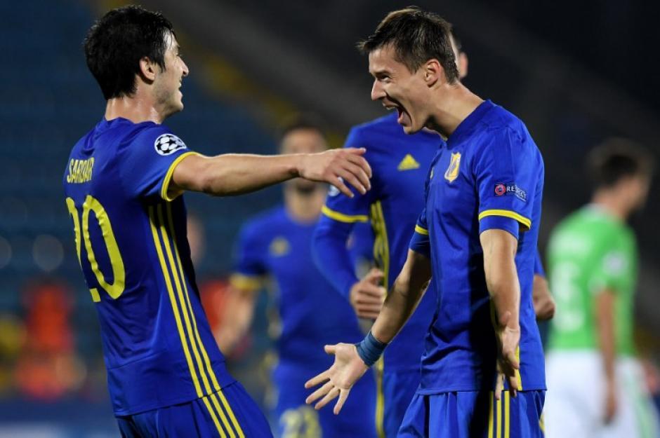 El FC Rostov logró su primer punto en la UCL. (Foto: AFP)