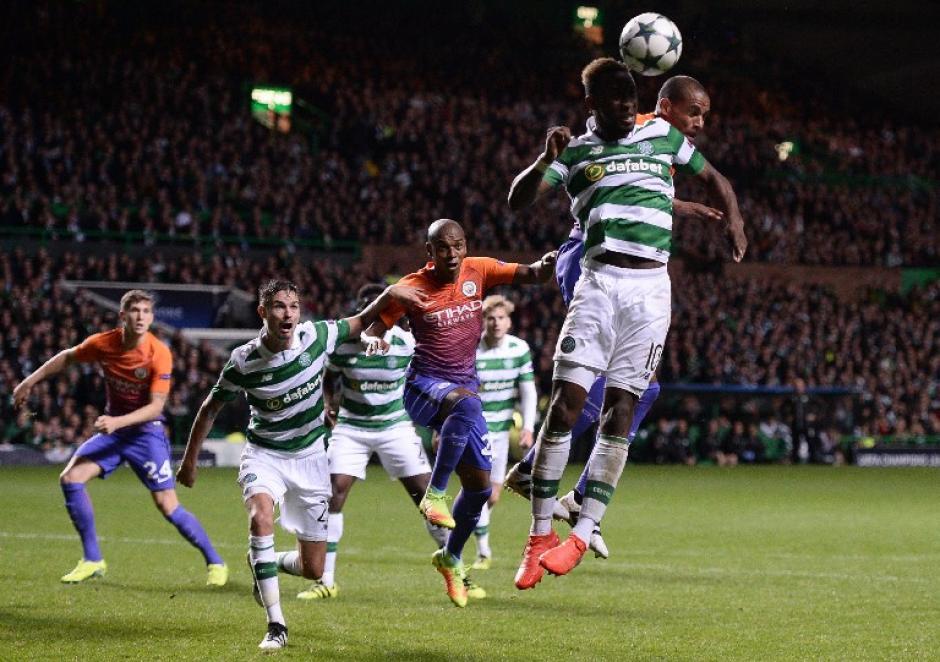 Celtic le plantó resistencia al poderoso equipo de Guardiola. (Foto: AFP)
