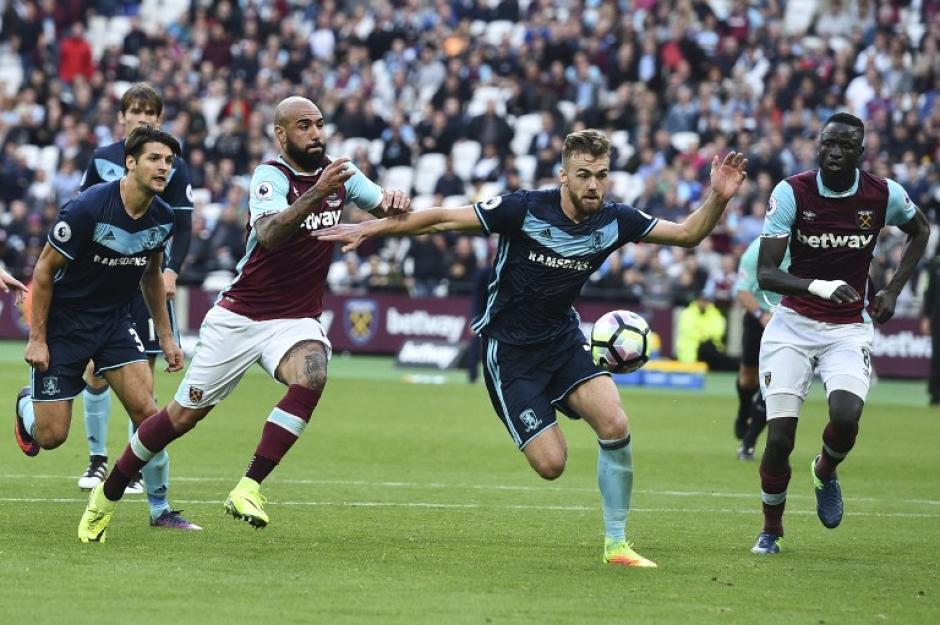 El partido terminó 1-1 en el Olympic Park. (Foto: AFP)