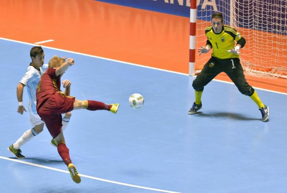 El portero argentino fue la figura de la gran final. (Foto: AFP)