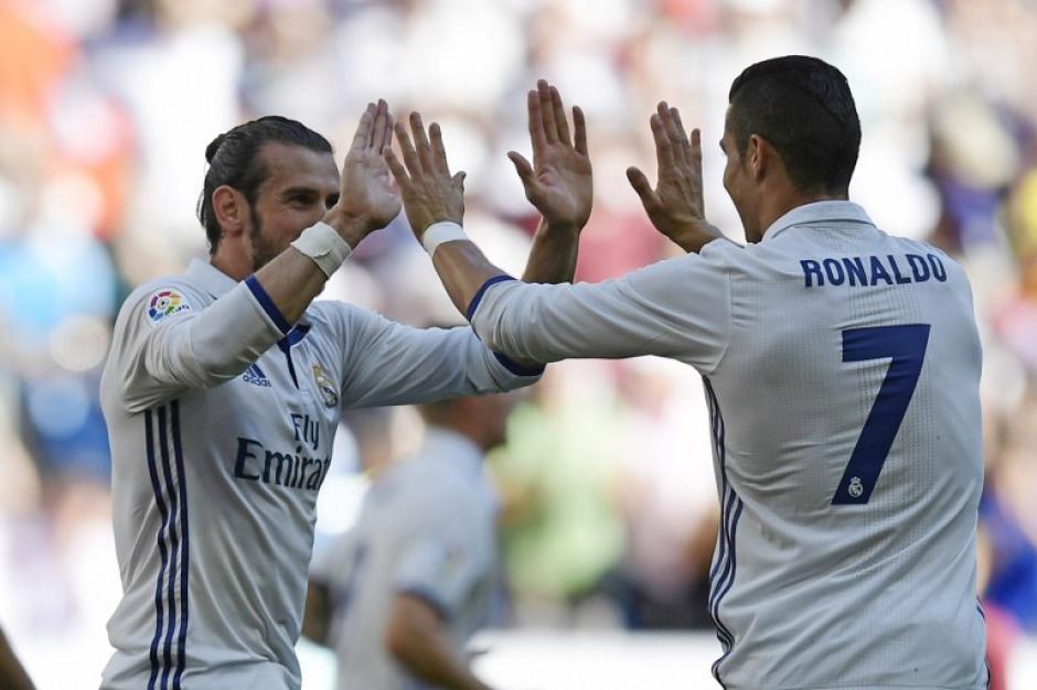 Gareth Bale empató a pase de Cristiano. (Foto: AFP)