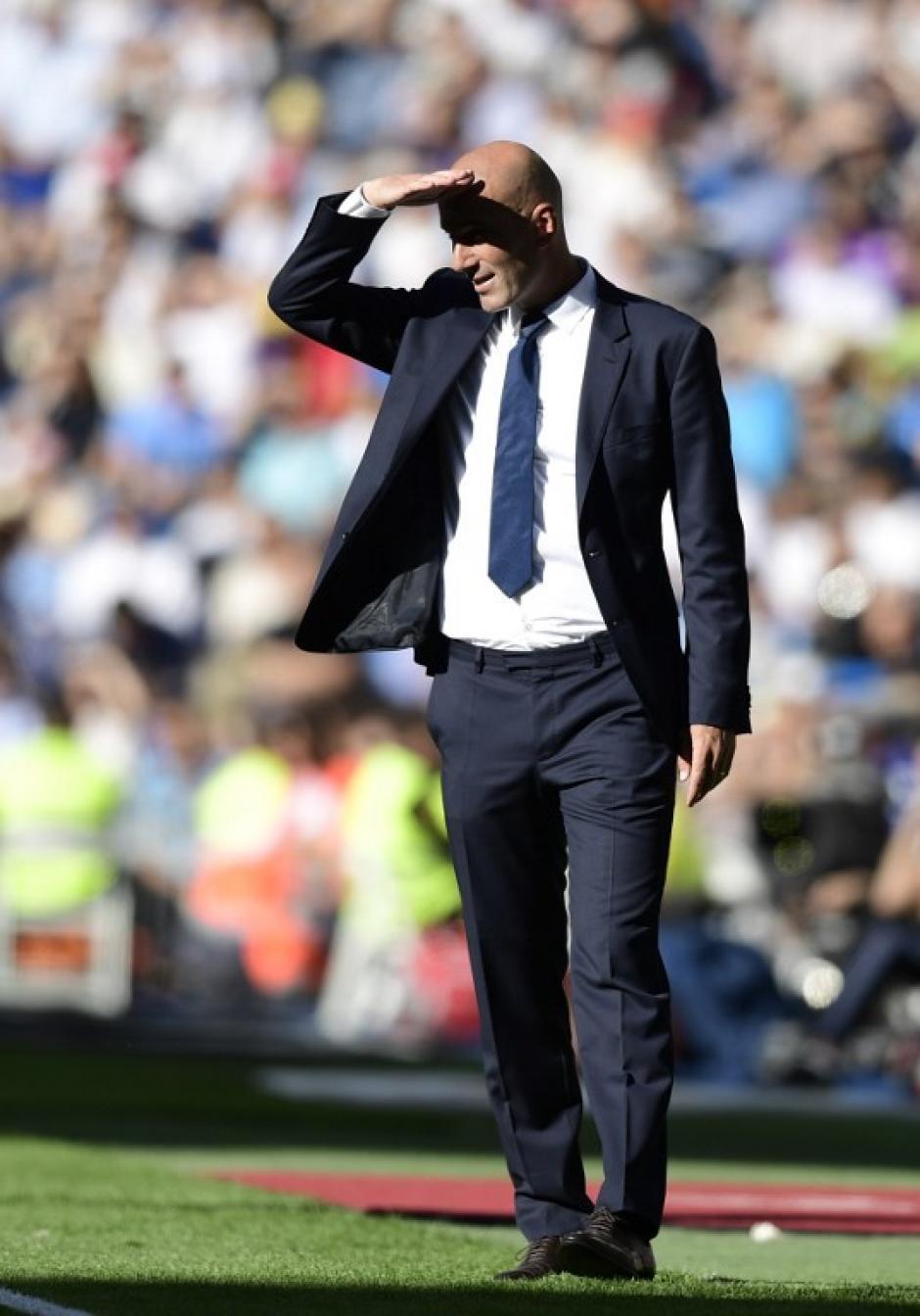 Zidane no encuentra soluciones cuando el Madrid no va ganando. (Foto: AFP)