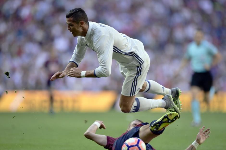 El portugués solo lleva un gol en la liga. (Foto: AFP)
