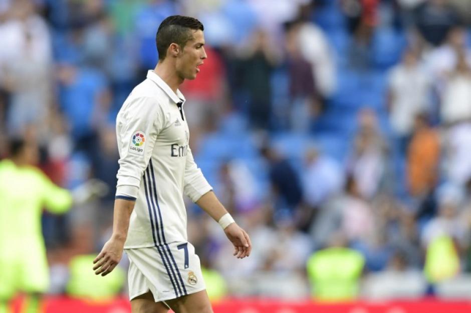 Cristiano solo le marcó al Osasuna. (Foto: AFP)