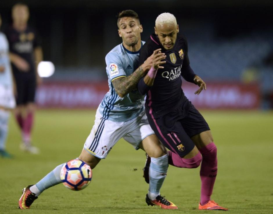 El Barça cae por goleada en Vigo. (Foto: AFP)
