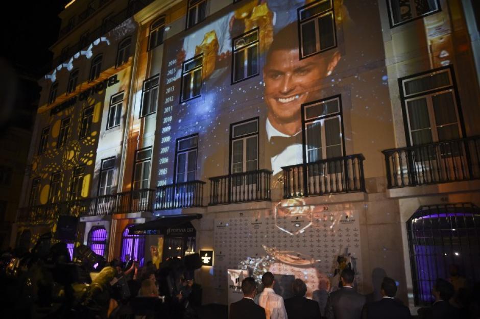 El hotel de Cristiano Ronaldo se estrenó este domingo en Lisboa, Portugal. (Foto: AFP)