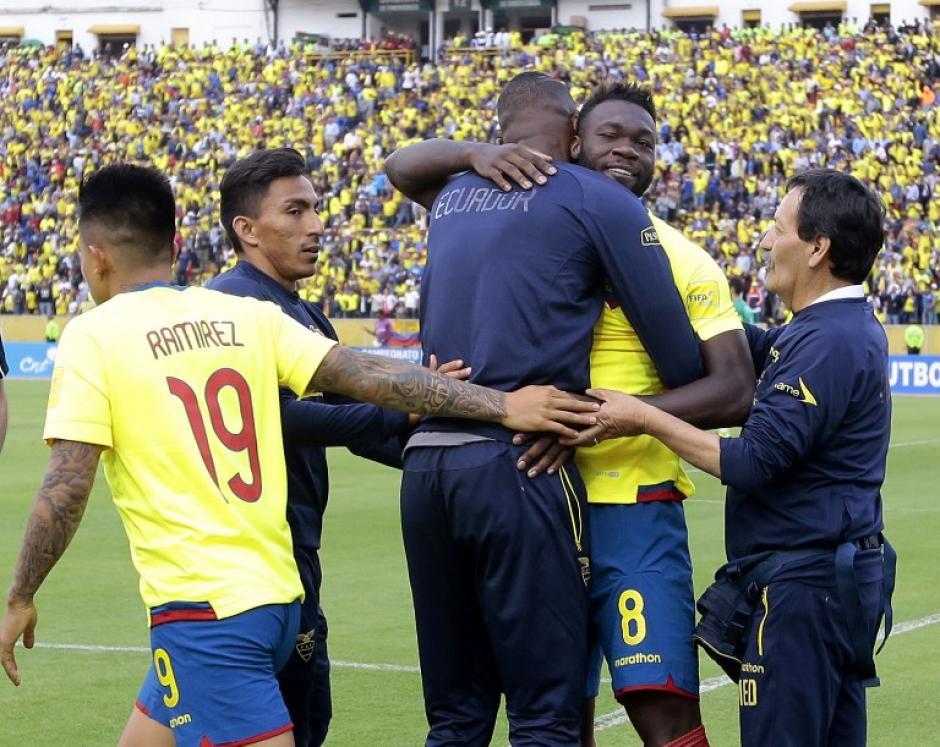 Ecuador goleó y está en posiciones para ir a Rusia. (Foto: AFP)
