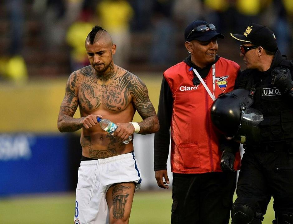 Chile está obligado a ganar su próximo partido, ante Perú. (Foto: AFP)