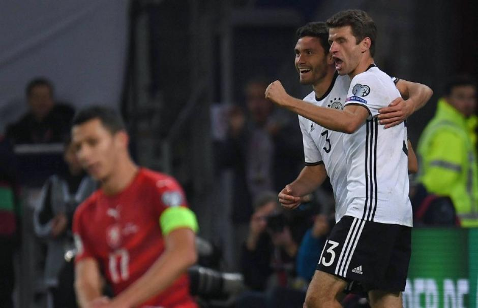 Alemania visó su boleto a siguiente ronda. (Foto: AFP)