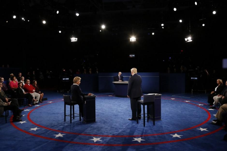 Ambos respondieron sobre varios temas de política interna y exterior de los Estados Unidos. (Foto: AFP)