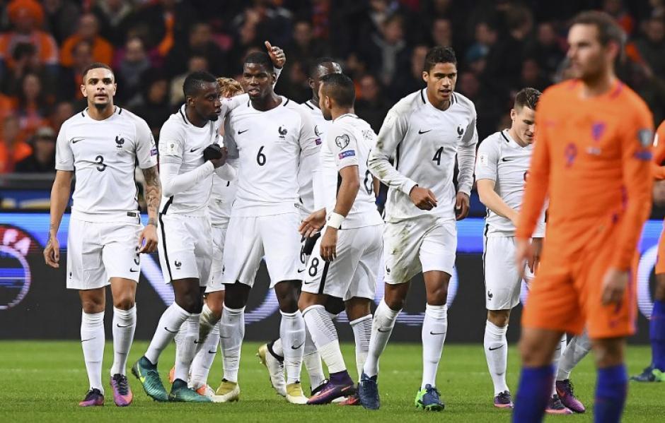 El mediocampista francés metió el gol de la victoria. (Foto: AFP)
