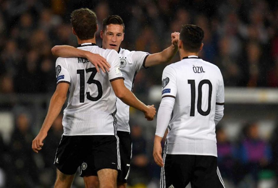 Alemania venció sin problemas a Irlanda del Norte. (Foto: AFP)