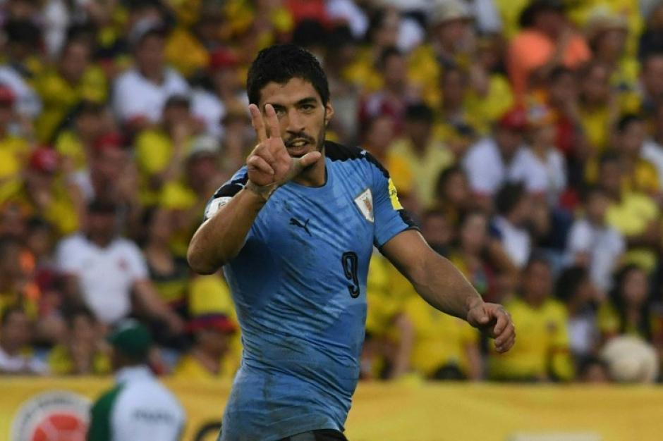 Luis Suárez metió un golazo, pero no fue suficiente. (Foto: AFP)
