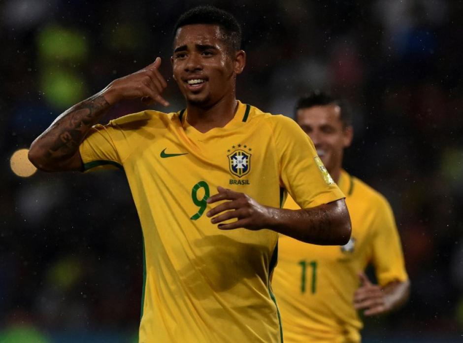 Gabriel Jesús lleva cuatro partidos con Brasil. (Foto: AFP)