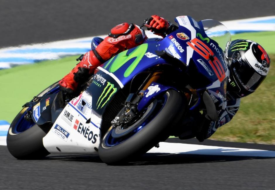 Lorenzo regresó para concluir con la carrera. (Foto: Infobae)