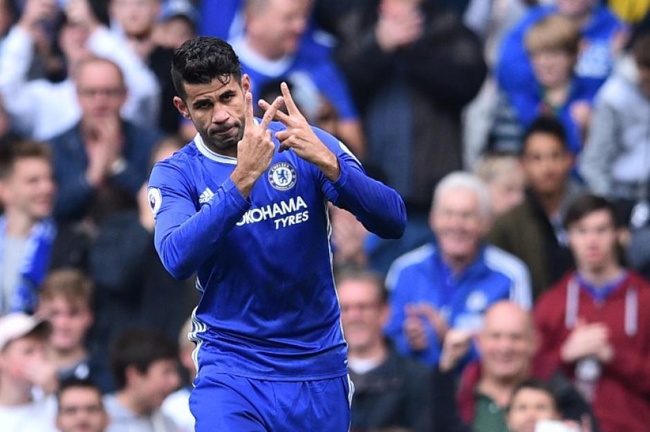 Diego Costa volvió a marcar para el Chelsea. (Foto: AFP)