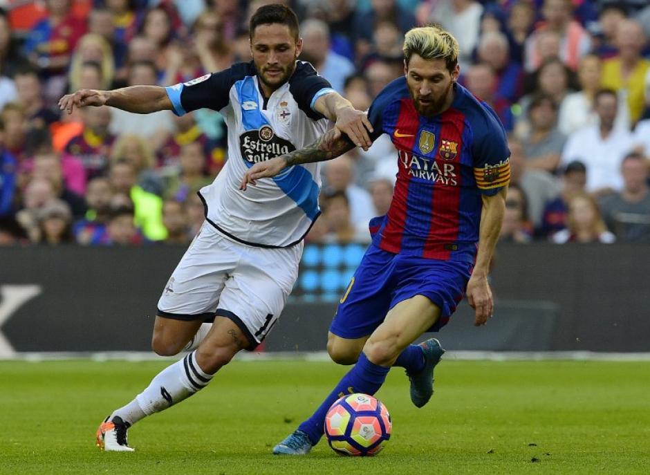El argentino metió un gol a los tres minutos de entrar. (Foto: AFP)