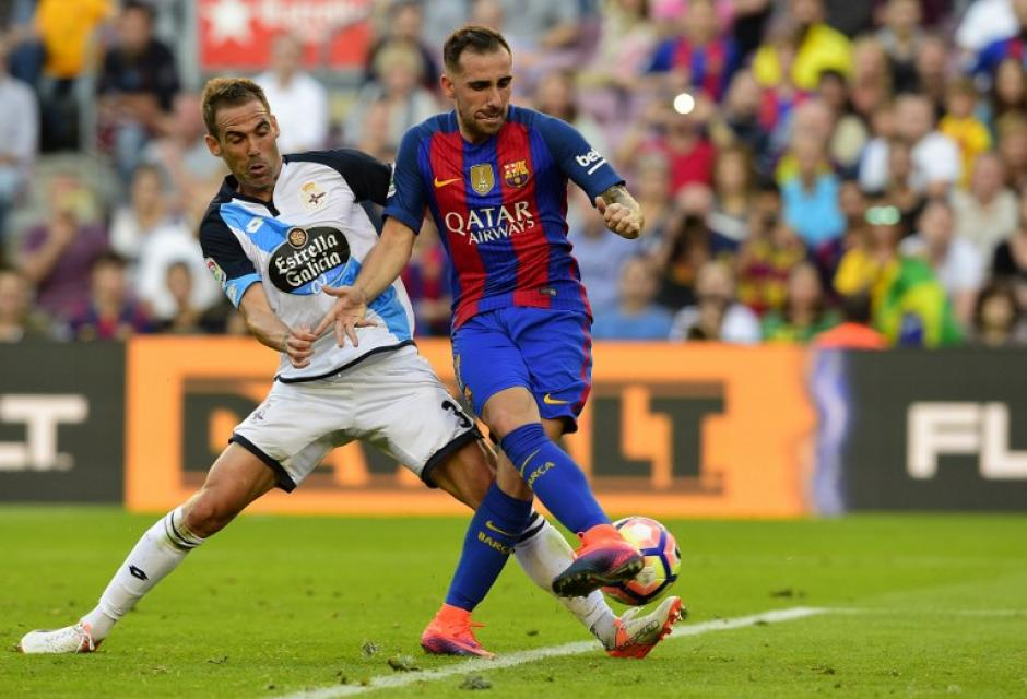 Paco Alcácer no tuvo un buen día y falló una clara oportunidad ante el arco rival. (Foto: AFP)
