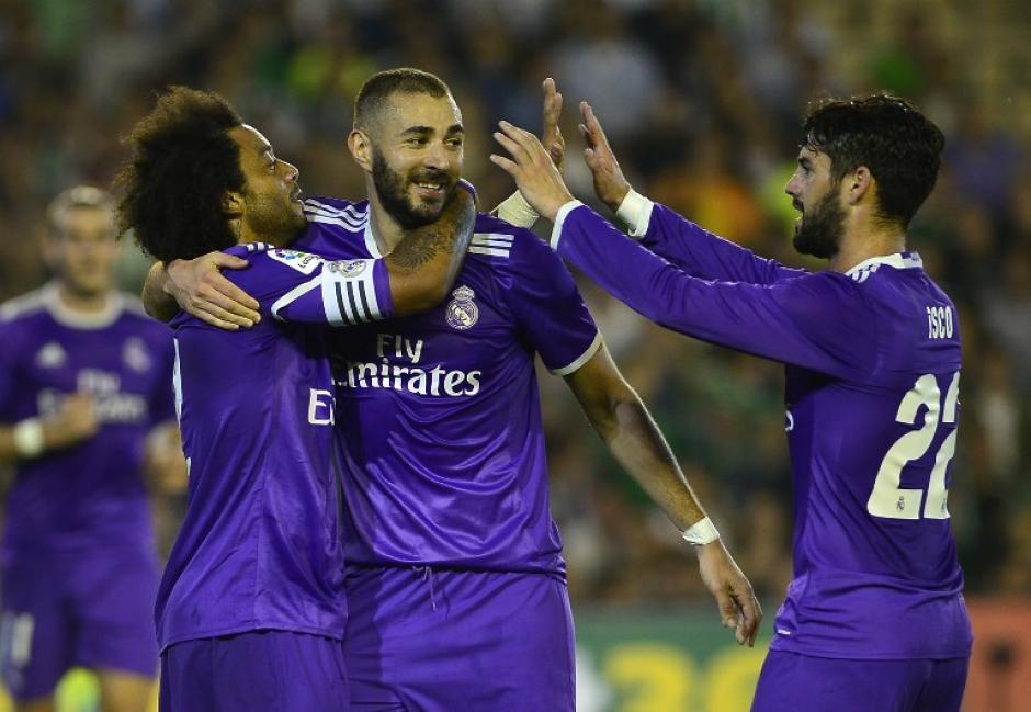 El Real Madrid viene de romper una mala racha. (Foto: AFP)