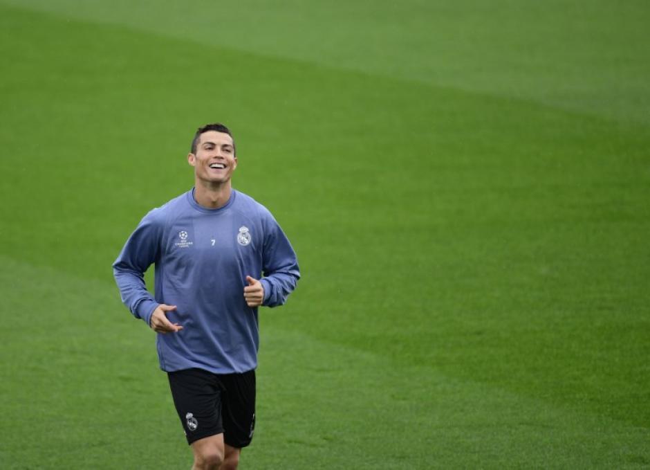 Cristiano está en forma para jugar en la Champions. (Foto: AFP)