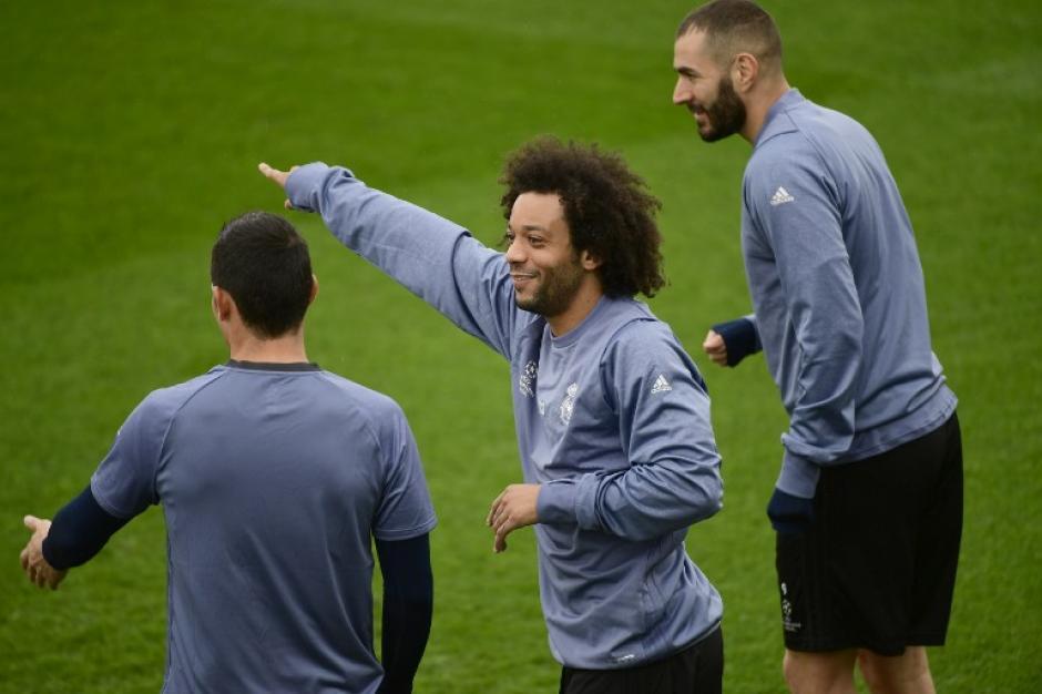 El Real Madrid recibe a los polacos en el Bernabéu. (Foto: AFP)