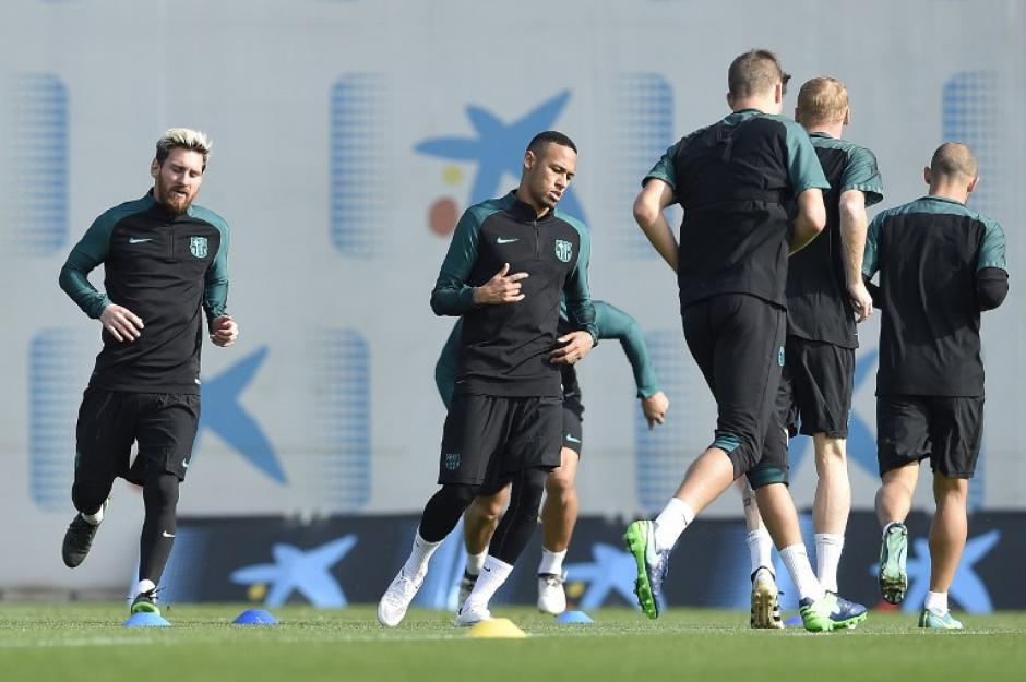 Messi está para ser titular contra el City. (Foto: AFP)
