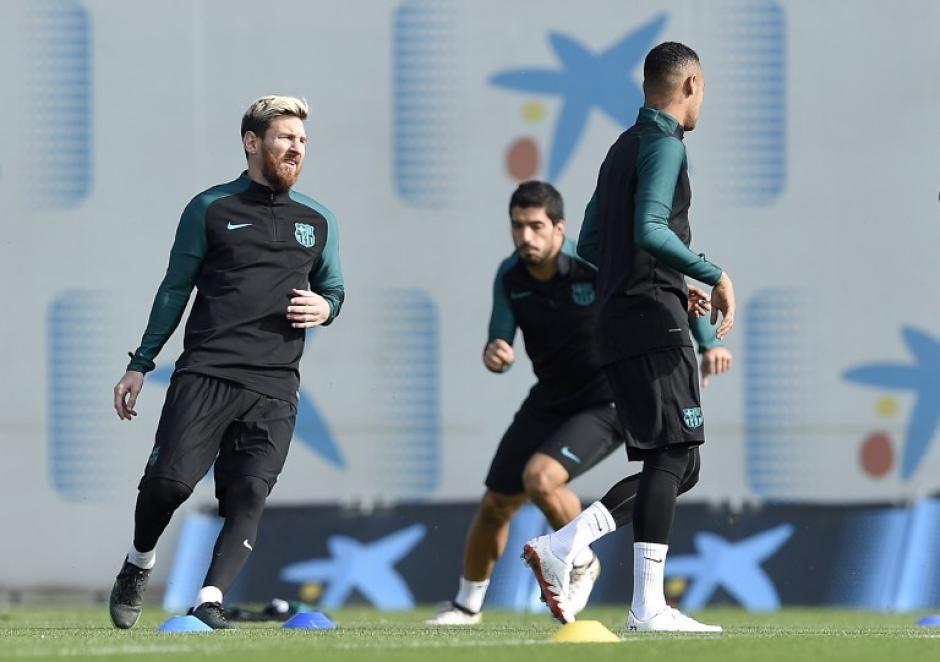 Leo será titular contra el Manchester City. (Foto: AFP)