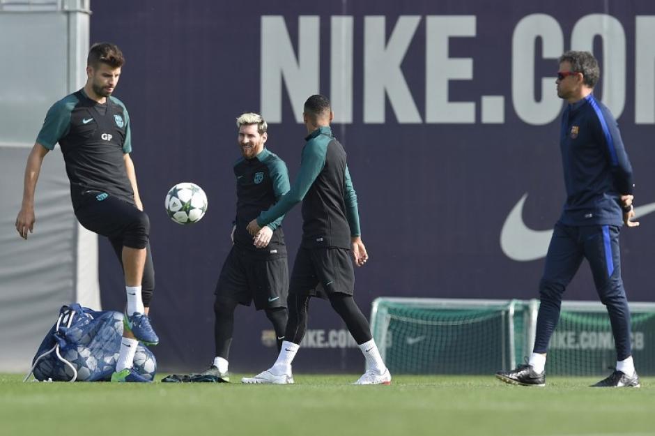 El Barça jugará en casa contra su exentrenador. (Foto: AFP)