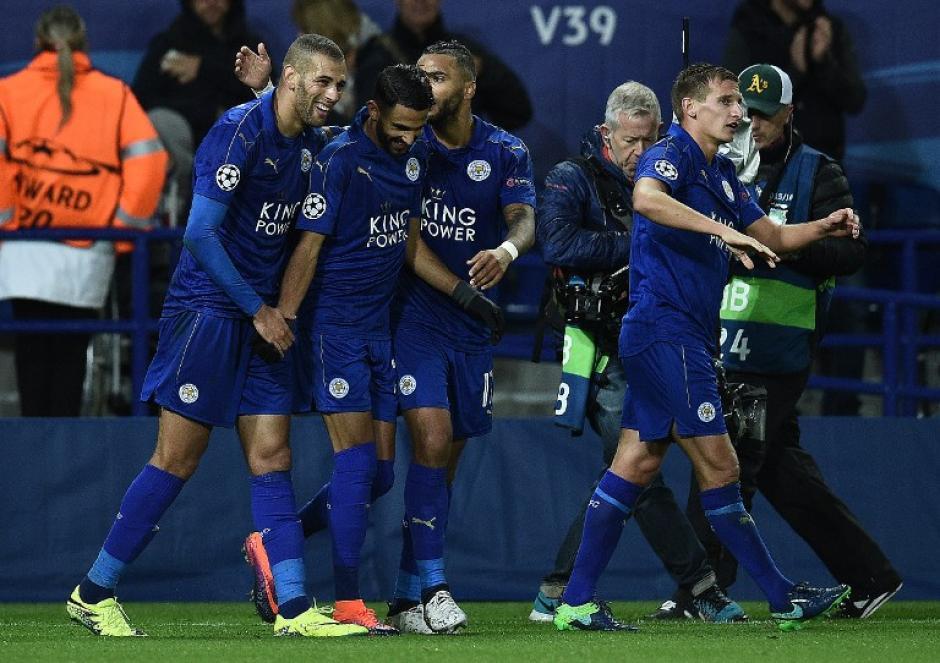 El Leicester City lleva tres victorias en tres partidos. (Foto: AFP)