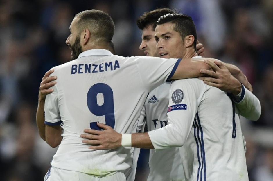 El Madrid sigue con paso firme a octavos. (Foto: AFP)