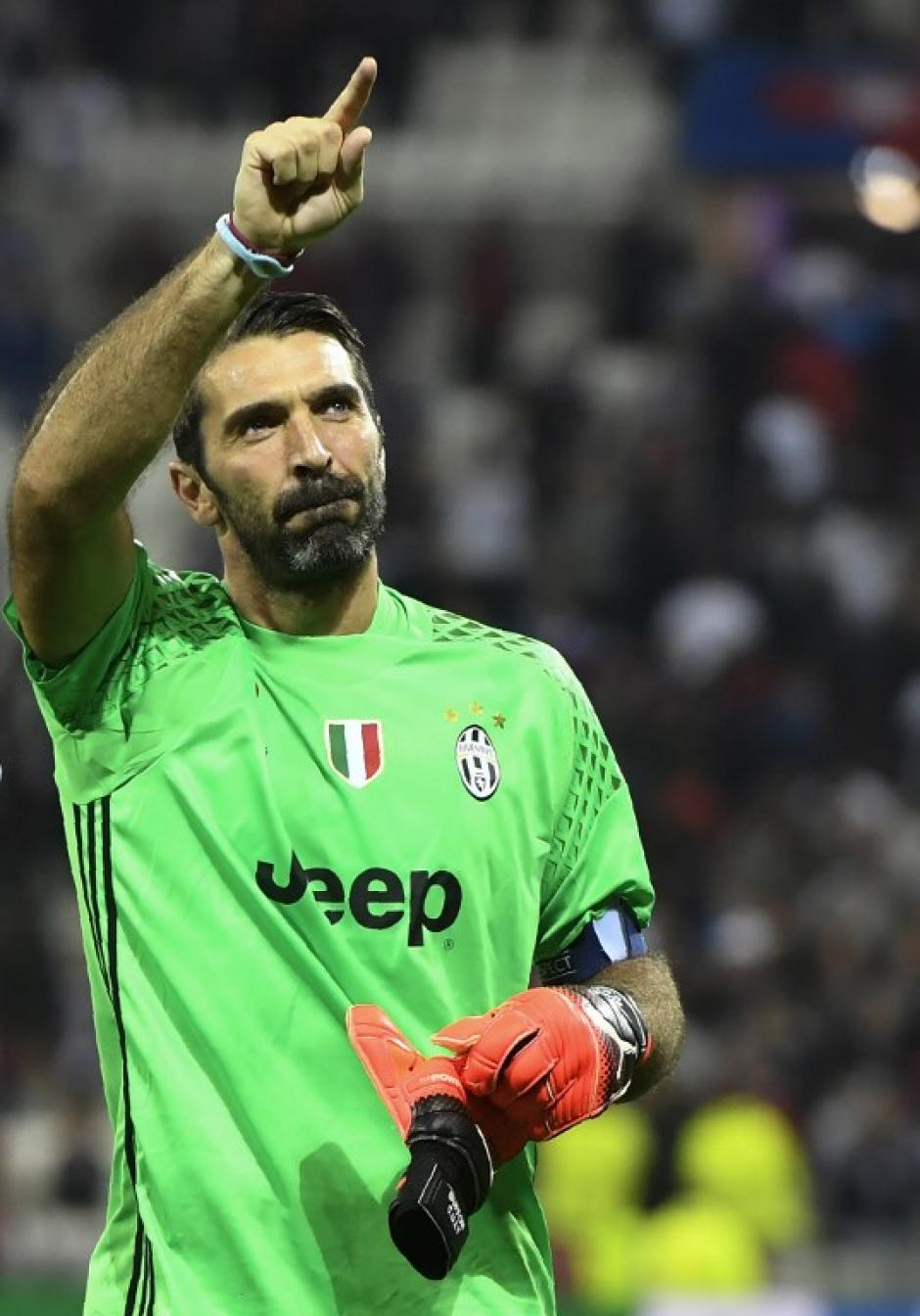 Gianluigi Buffon, el más veterano con 38 años. (Foto: AFP)