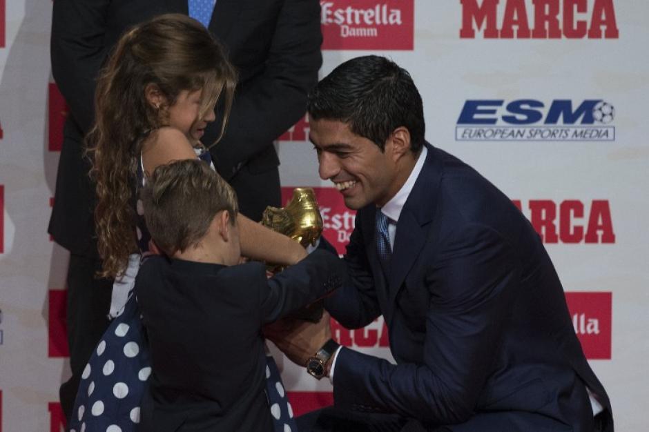 El delantero agradeció a sus compañeros por las asistencias. (Foto: AFP)