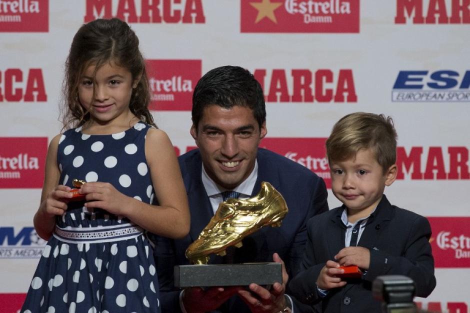 En la gala estuvieron Messi y Busquets. (Foto: AFP)
