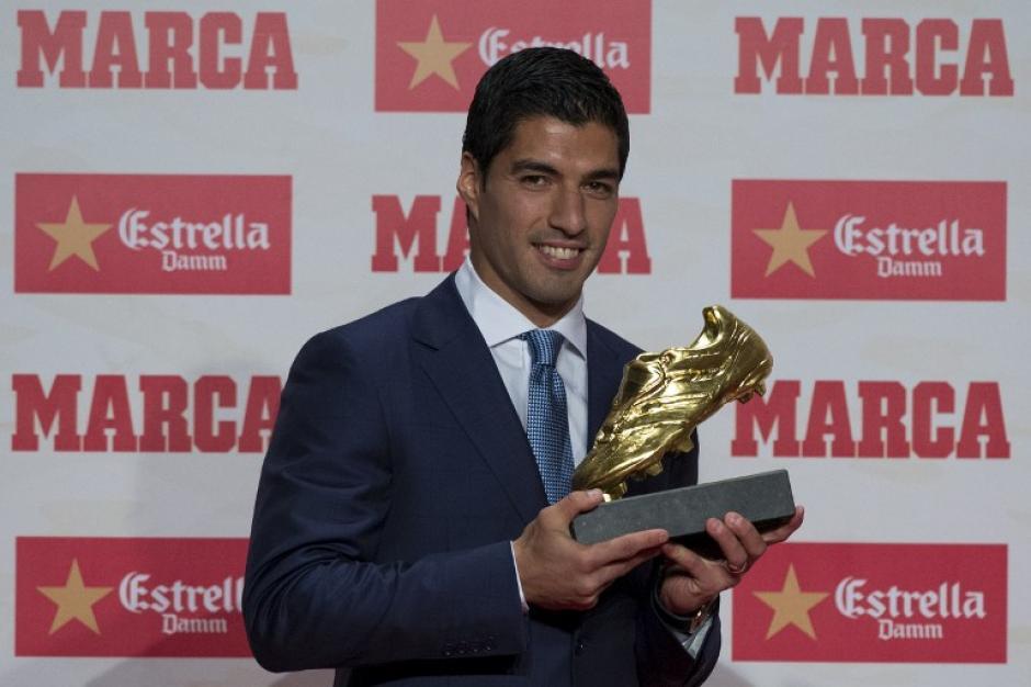El uruguayo marcó 40 goles en la pasada liga. (Foto: AFP)