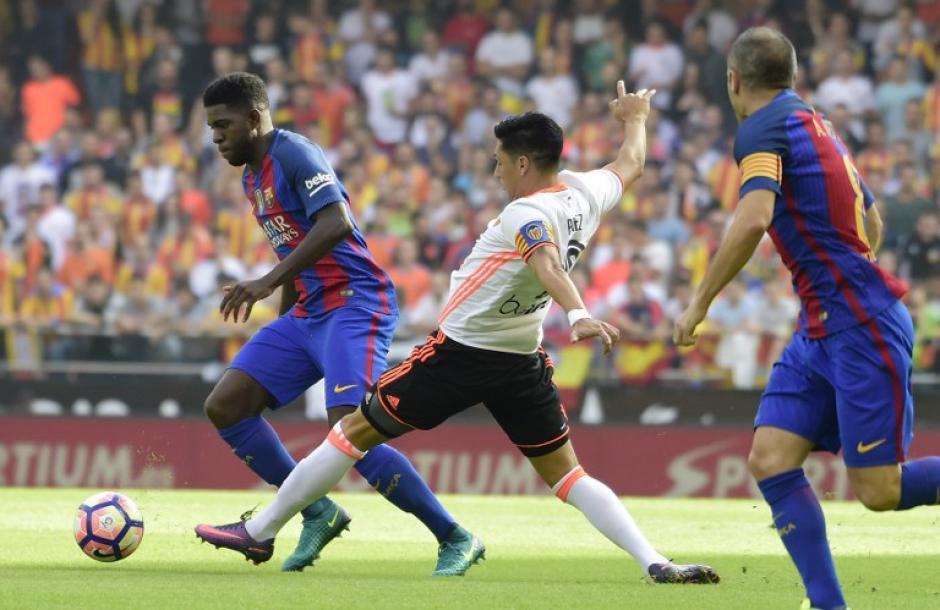Barcelona asume el liderato de manera provisional. (Foto: AFP)