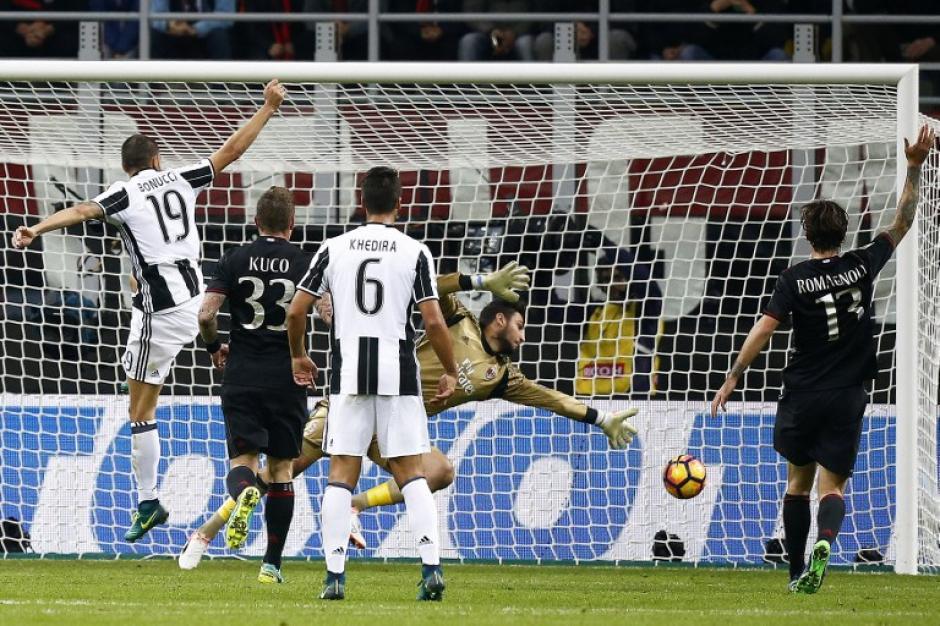 Donnarumma salvó en varias ocasiones a su equipo. (Foto: AFP)