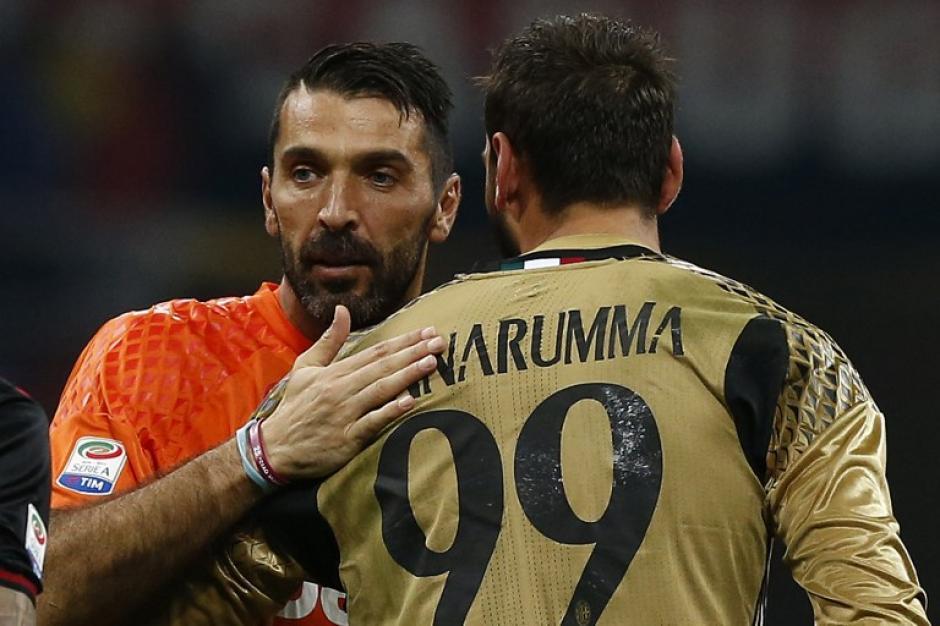 Buffon tuvo palabras de halago para el juvenil del Milán. (Foto: AFP)