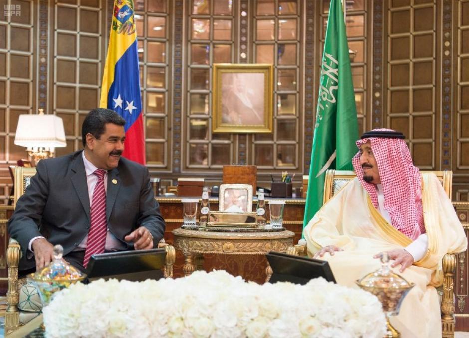 Maduro se encontraba en una gira por Arabia Saudita. (Foto: AFP PHOTO / SPA)