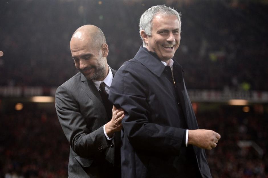 El portugués le ganó una eliminatoria por tercera vez a Guardiola. (Foto: AFP)