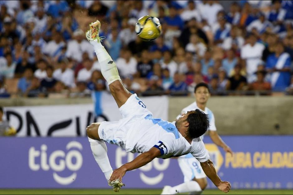 """""""El Pescado"""" Ruiz es el máximo goleador  histórico de las eliminatorias mundialistas con 68 goles. (Foto: Soy502)"""
