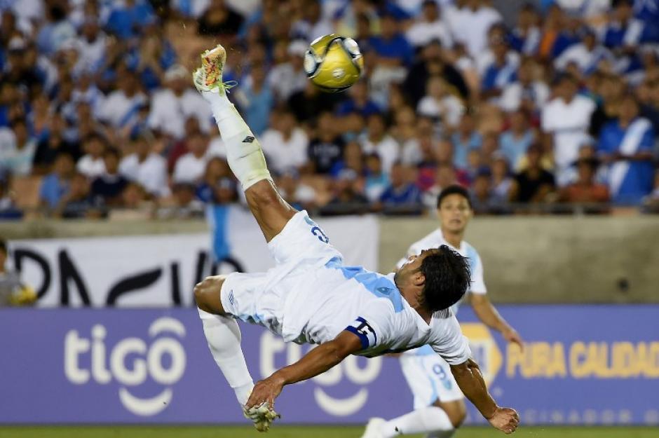 Carlos Ruiz anotó 68 goles vistiendo los colores de la Selección Nacional de Fútbol de Guatemala
