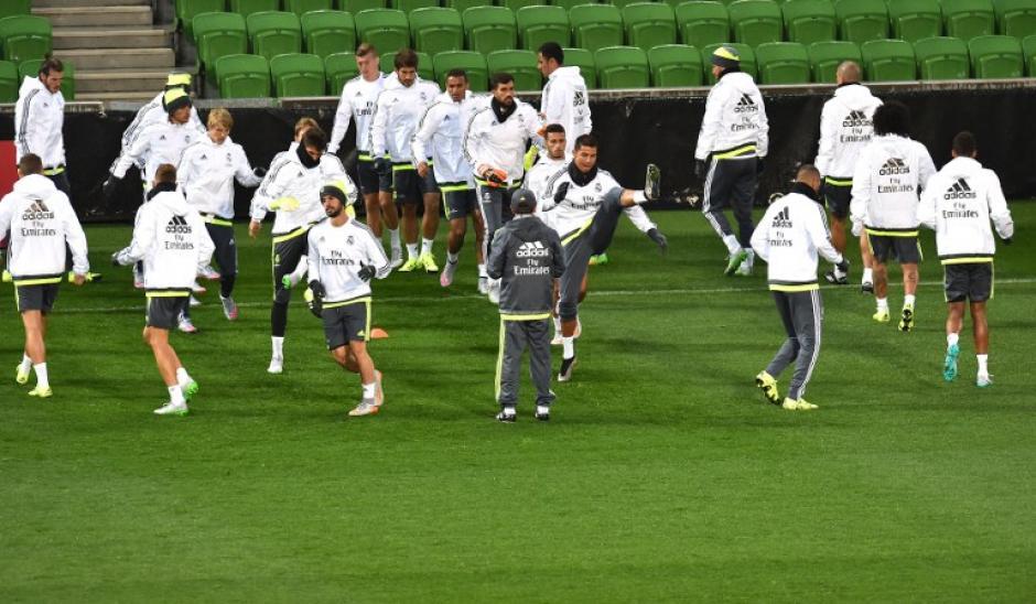 El Real Madrid se prepara para la Copa Audi, como parte de su pretemporada en Australia. (Foto: AFP)