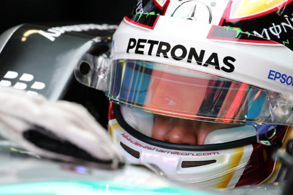 Lewis Hamilton se quedó con el primero lugar en el Gran Premio de Japón. (Foto: AFP)