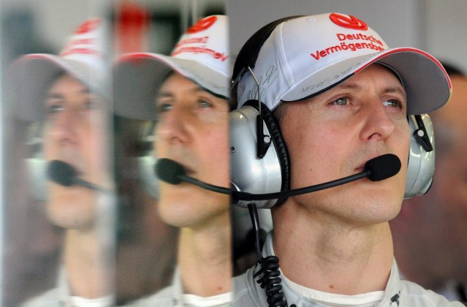 El multicampeón alemán, Michael Schumacher, brilló también en la escudería Mercedes. (AFP)