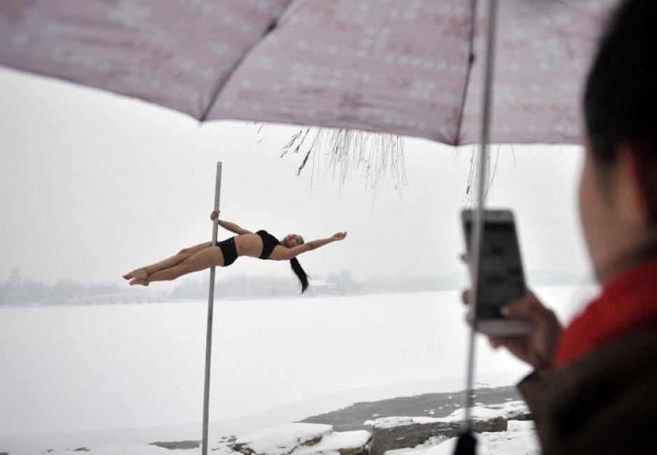 En octubre de 2012, China estableció su primera selección nacional de pole dance en la municipalidad de Tianjin. (AFP)