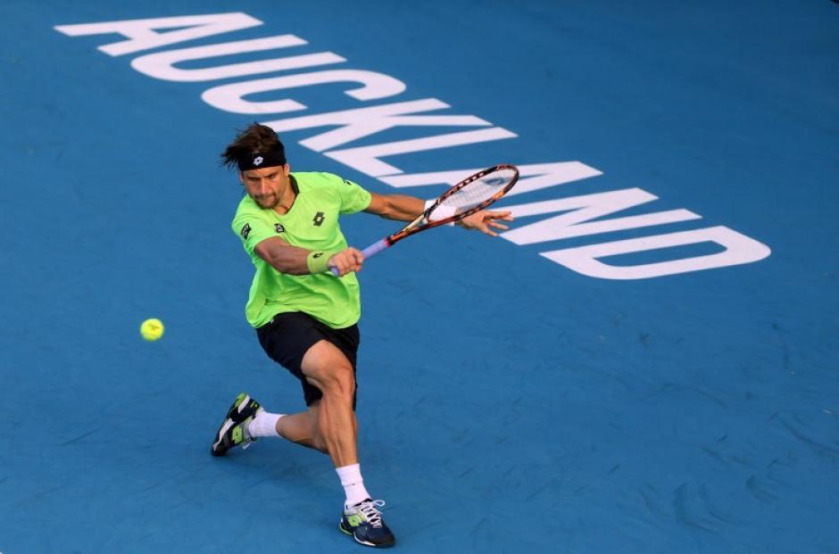 El español David Ferrer cayó en semifinales en Auckland ante el taiwanés Yen-hsun Lu