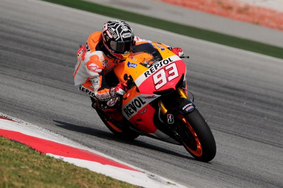 Márquez ha demostrado un buen rendimiento durante los entrenamientos de la pretemporada, colocándose como el más rápido.